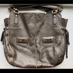 Grey Alligator Coach Bag